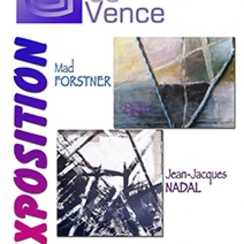 Exposition Jacques Nadal et Mad Fortsner